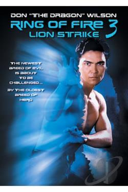 Ring of Fire III - Lion Strike DVD Cover Art
