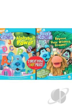 Blue's Room - Alphabet Power/Beyond Your Wildest Dreams DVD Cover Art