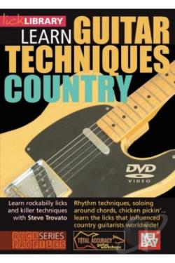 Lick Library: Guitar Techniques - Albert Lee DVD Cover Art