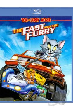 Tom and Jerry: The Fast and the Furry BRAY Cover Art