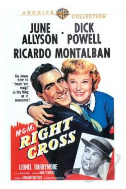 Right Cross DVD Cover Art