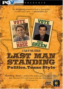 Last Man Standing Politics, Texas Style DVD Cover Art