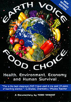 Earth Voice Food Choice DVD Cover Art