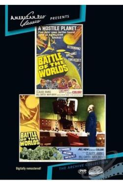 Battle of the Worlds DVD Cover Art