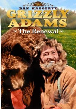 Life and Times of Grizzly Adams: The Renewal DVD Cover Art