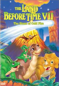 Land Before Time VII: The Stone of Cold Fire DVD Cover Art