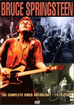 Bruce Springsteen - Video Anthology 1978-2000 DVD Cover Art