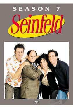 Seinfeld - The Complete Seventh Season DVD Cover Art