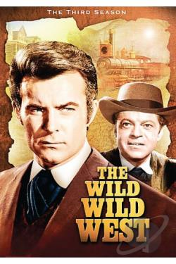 Wild Wild West - The Third Season DVD Cover Art