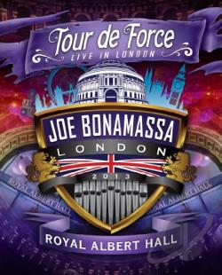 Joe Bonamassa: Tour de Force - Live in London, Royal Albert Hall DVD Cover Art