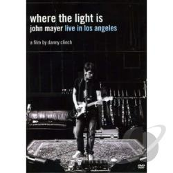 Where The Light Is: John Mayer Live In L DVD Cover Art
