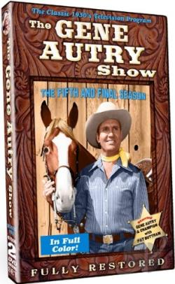 Gene Autry Show: The Fifth and Final Season DVD Cover Art