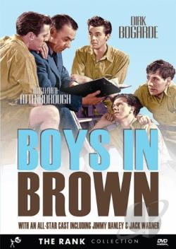 Boys in Brown DVD Cover Art