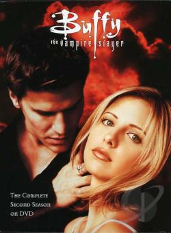 Buffy the Vampire Slayer - The Complete Second Season DVD Cover Art