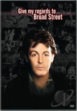 Give My Regards to Broad Street DVD Cover Art