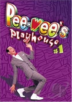 Pee-Wee's Playhouse Volume # 1 DVD Cover Art