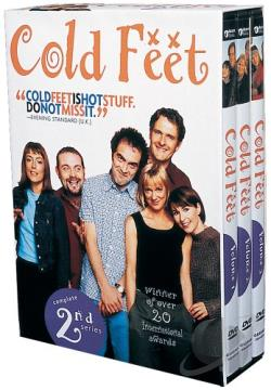 Cold Feet - The Complete 2nd Series DVD Cover Art
