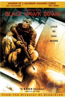 Black Hawk Down DVD Cover Art
