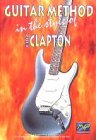 Guitar Method in the Style of Eric Clapton DVD Cover Art