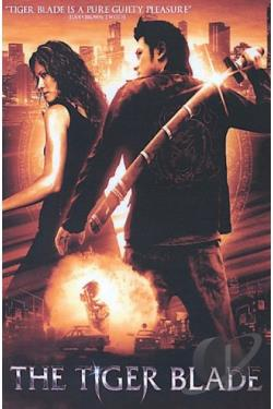 Tiger Blade DVD Cover Art