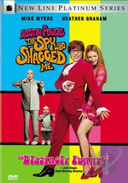 Austin Powers: The Spy Who Shagged Me DVD Cover Art