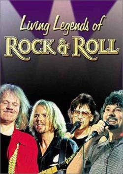 Living Legends of Rock & Roll - Live from Itchycoo Park DVD Cover Art