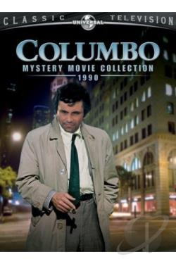 Columbo - Mystery Movie Collection 1990 DVD Cover Art