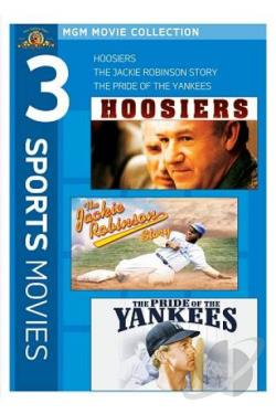 MGM Movie Collection: 3 Sports Movies DVD Cover Art