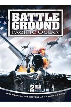 Battle Ground Pacific Ocean Area DVD Cover Art