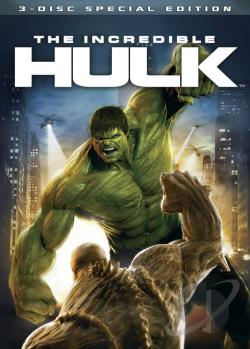 Incredible Hulk DVD Cover Art