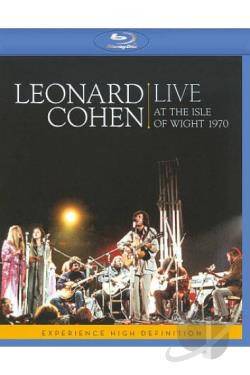 Leonard Cohen: Live at the Isle of Wight 1970 BRAY Cover Art