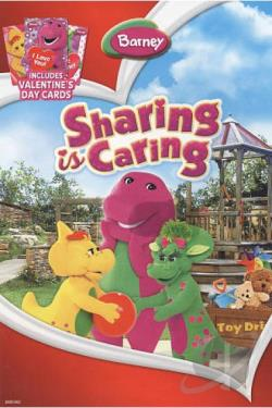 Barney - Sharing is Caring DVD Cover Art