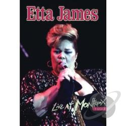 Etta James: Live at Montreux 1993 DVD Cover Art