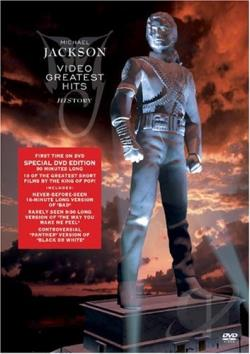Michael Jackson - Video Greatest Hits - HIStory DVD Cover Art