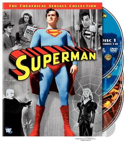 Superman: The Theatrical Serials Collection DVD Cover Art