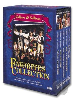 Gilbert & Sullivan: Favorites Collection DVD Cover Art