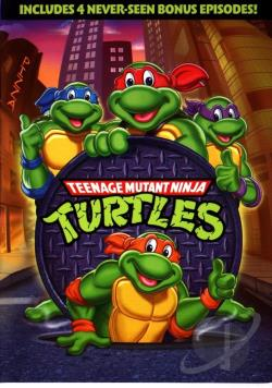 Teenage Mutant Ninja Turtles DVD Cover Art