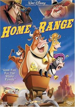 Home on the Range DVD Cover Art