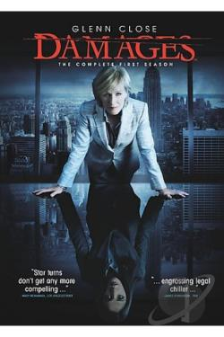Damages - The Complete First Season DVD Cover Art