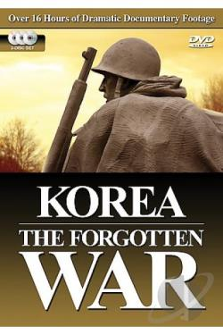 Korea: The Forgotten War DVD Cover Art