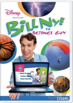Bill Nye the Science Guy: Storms DVD Cover Art