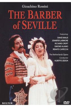 Giocchino Rossini: The Barber of Seville DVD Cover Art