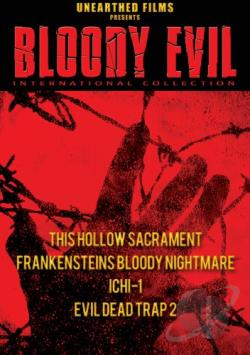 Bloody Evil International Collection DVD Cover Art