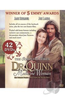 Dr. Quinn, Medicine Woman - The Complete Series DVD Cover Art