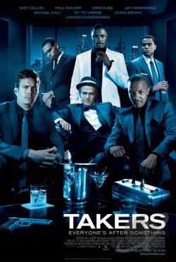 Takers DVD Cover Art