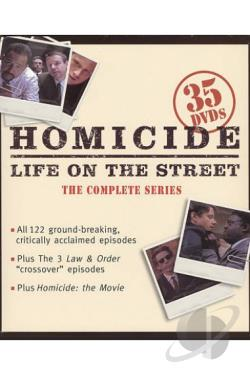 Homicide - Life on the Street - The Complete Series DVD Cover Art