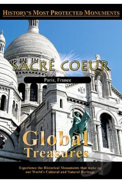 Global Treasures - Sacre Coeur Paris, France DVD Cover Art