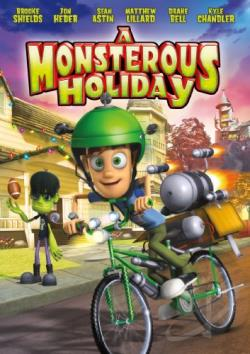 Monsterous Holiday DVD Cover Art