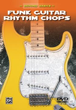 Beyond Basics - Funk Guitar Rhythm Chops DVD Cover Art