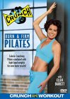 Crunch - Burn And Firm Pilates DVD Cover Art
